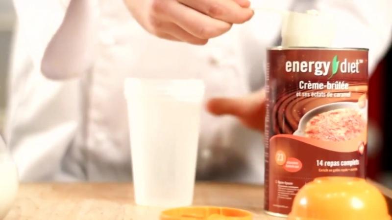 Десерт Крем брюле от Energy Diet, NL International