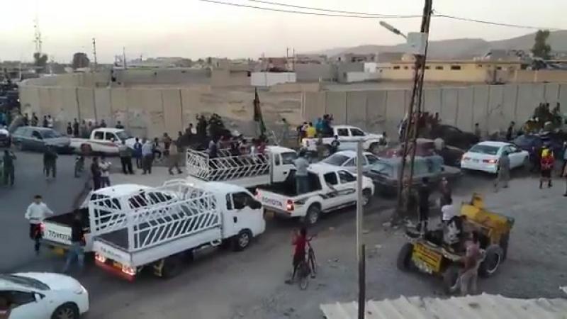 Празднование освобождения. Башика, Ирак.