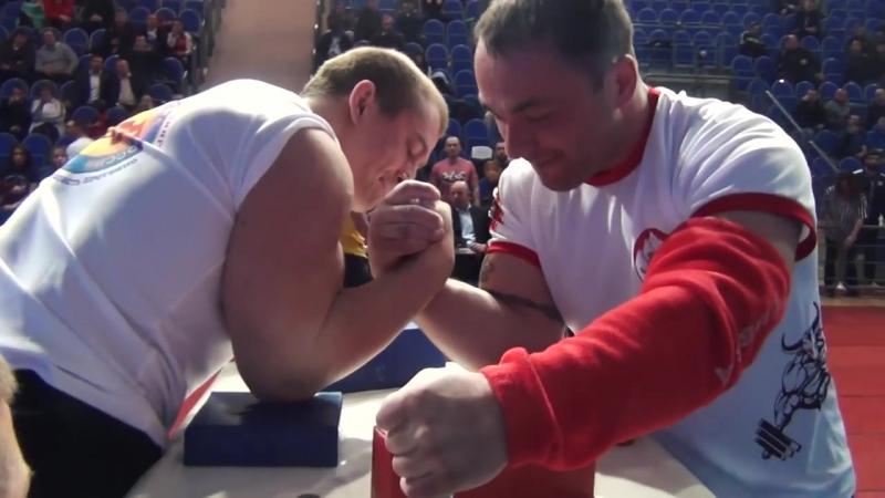 Сергей БОГОСЛОВОВ и Спартак ЗОЛОЕВ (кат. 90 кг, ЧЕМПИОНАТ РОССИИ 2017)