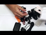 Парковочный комплекс на 4 датчика + камера (для штатной установки)