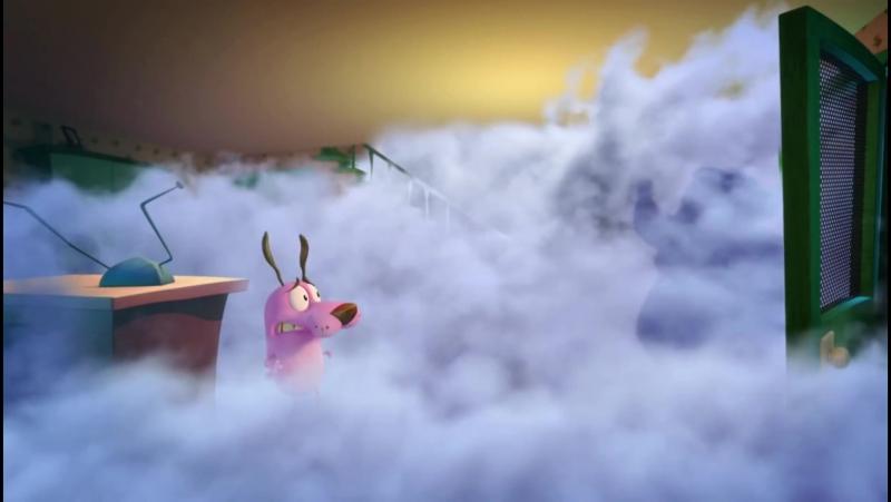 Кураж трусливый пёс Спецвыпуск Туман Официальный Клип 2 (2014)