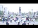 Танцевальный и песенный флеш-моб на празднике улицы Ленинградской