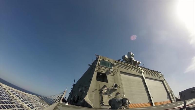 U.S. Navys Supersonic SeaRAM Anti-Ship Missile Defense System