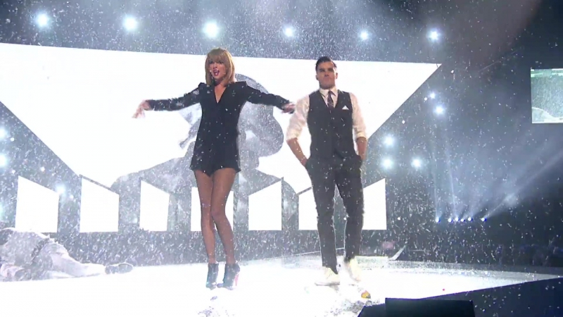 Taylor Swift Performance Visuals for BRIT Awards 2015