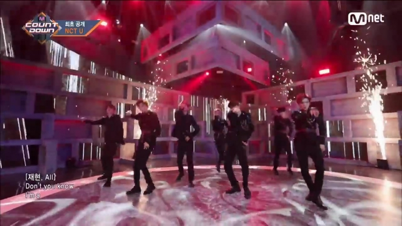 [NCT U - BOSS] Comeback Stage - M COUNTDOWN 180222 EP.559 (1)