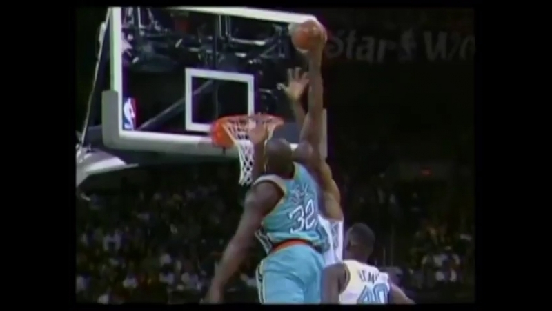 NBA 1996 Shaq over Robinson