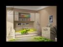 Обзор мебели для детских комнат