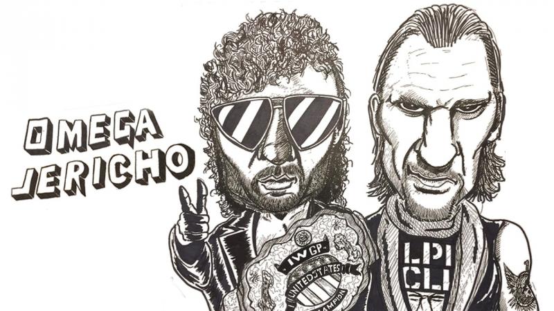 ШКК: Wrestle Kingdom 12 - Chris Jericho vs Kenny Omega (Королевство Борьбы 12) - 04.01.2018