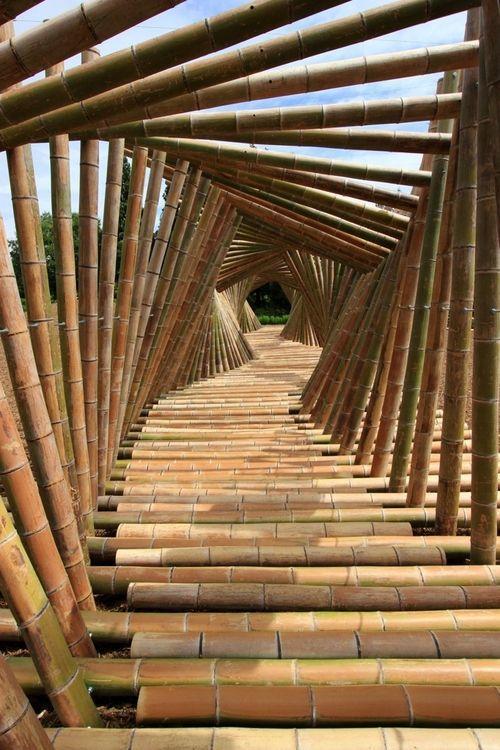 Конструкции из бамбука