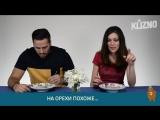 Итальянцы пробуют русские каши