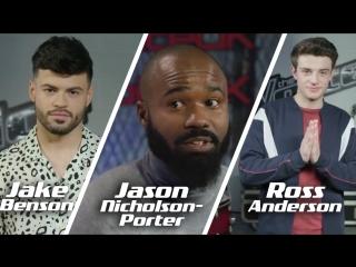 Team jhud interview: jake benson, jason nicholson-porter & ross anderson (the voice uk 2018)