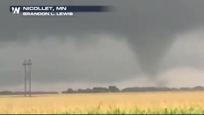 Wednesday night saw several tornado reports for Minnesota. Thursday the U.S. National Weather Service (NWS) will assess the dam