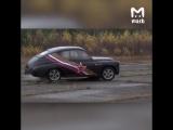 Житель Костромской области превратил ГАЗ 1956 года в гоночный автомобиль