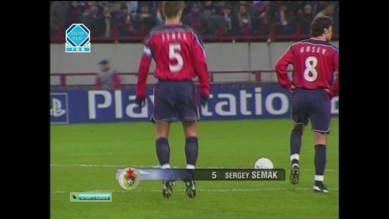 ПФК ЦСКА Москва 0 1 Челси Лондон Групповой этап Лиги Чемпионов УЕФА 2004 2005 Обзор матча