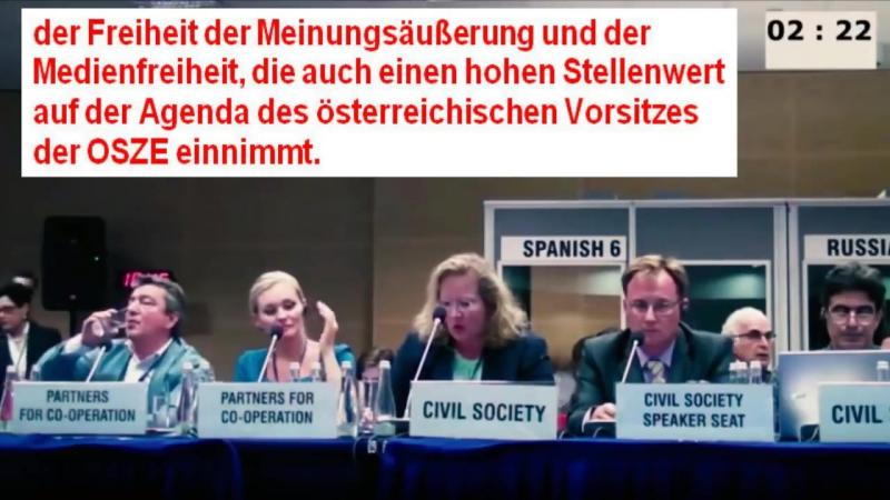 Unrechts Urteil gegen Stürzenberger bei OSZE Konferenz in Warschau