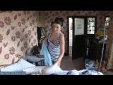 Жена моряка наводит порядок в кровати после пьяного секса с мужем [milf, mature, милф, мамки]