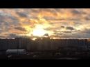 Закат в Марьино