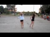 Танцевально-гимнастический баттл в лагере – Маша и Женя (Kanye West feat. Jay-Z – I Cant Stop)