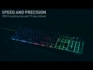 Announcing the K3 keyboard and the release of the H1 headset and the M1 gaming mouse!