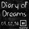 DIARY OF DREAMS в Москве - 03.02.2018!