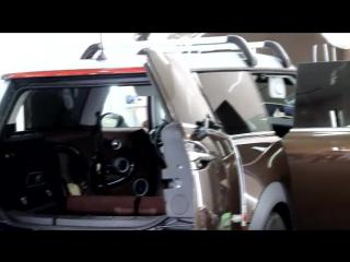 MINI Cooper -химчистка салона, полировка декор.вставок