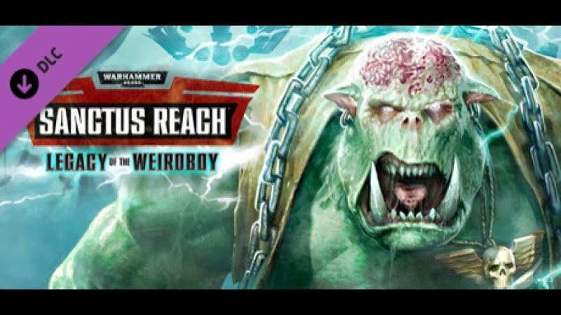 Warhammer 40,000: Sanctus Reach - DLC Legacy of the Weirdboy (пошаговая стратегия, вархаммер 2017)