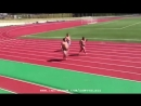 Забег на 100 метров