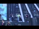 1.11.17 Репетиция HONEYMOON B.A.P @ 2018 Pyeongchang Winter Olympics G-100 Concert