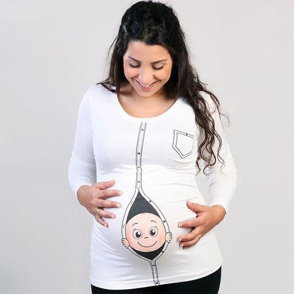 Платья для беременных с приколами 91