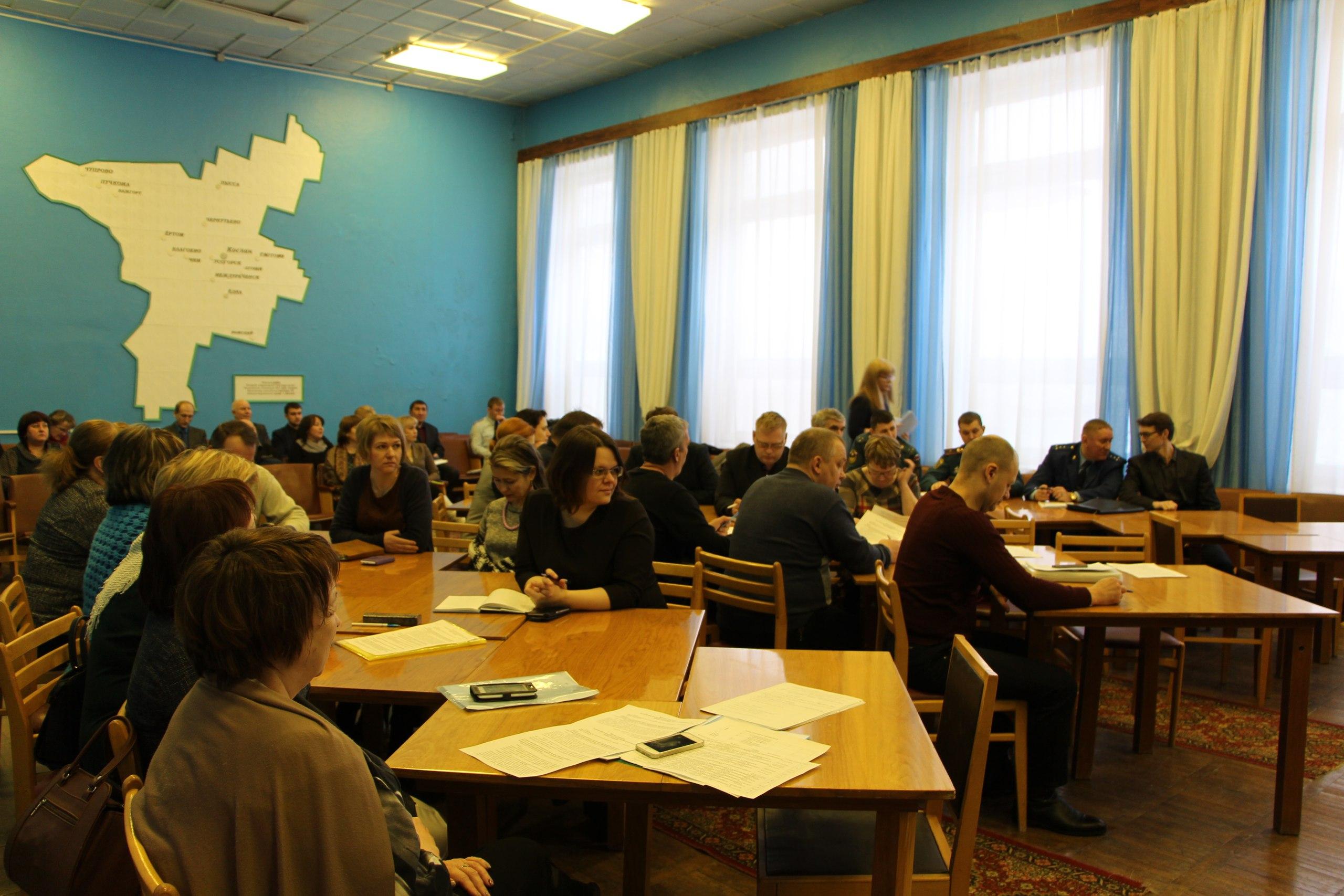 Заседание коллегии при руководителе администрации муниципального района Удорский