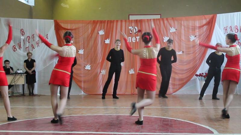 Бальные танцы-15. 8-а.Произвольный.