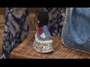 Chaveiro sunbonnet - Coleção Canto dos pássaros - Fábia Marchetti