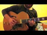 'Blue Drag' Django Reinhardt Allen Toussaint - Marc Ribot guitar solo transcription