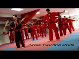 Arnis Tirada twirling exercise drills and warm up