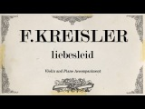 F.Kreisler - liebesleid - Piano accompaniment