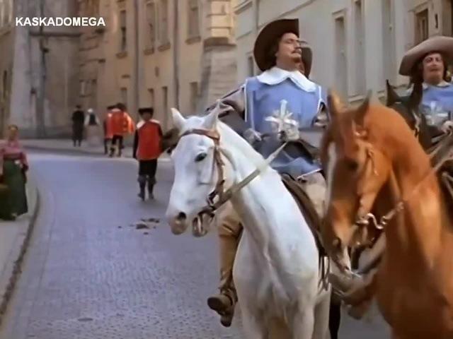 Д'Артаньян и три мушкетера Мерси боку 1080p