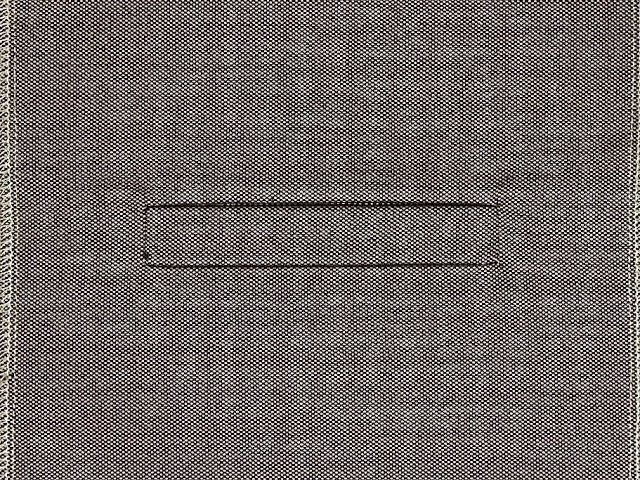 Single welt pocket How to sew.