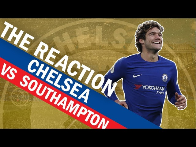 Marcos Alonso's Worldie Free Kick Gives Chelsea The Win Over Southampton The Reaction