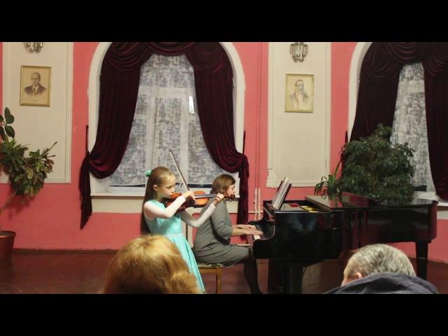 Концерт струнно-смычкового отделения ДШИ г. Пинск 01.02.18