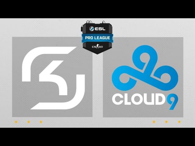 Cloud9 vs. SK Gaming [dust2] ESL Pro League S4 Finals - Mapa 3