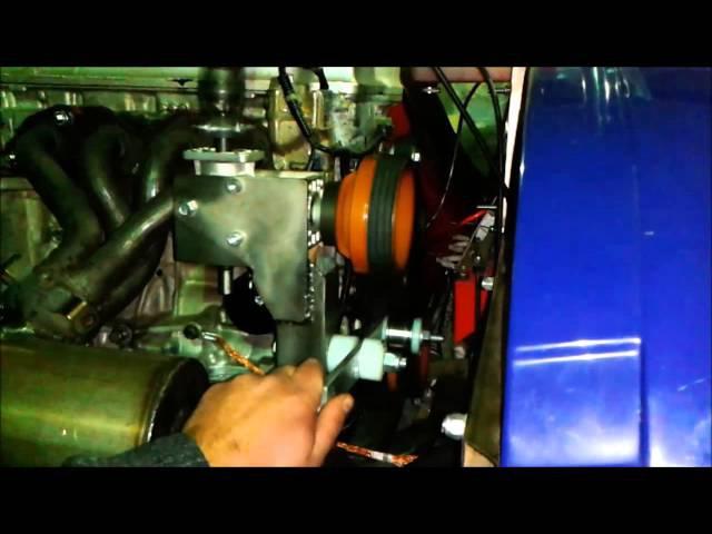 Карданная раскрутка ротора автожира