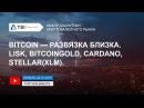 Bitcoin развязка близка LISK BitcoinGold Cardano Stellar XLM Прогноз Криптовалют