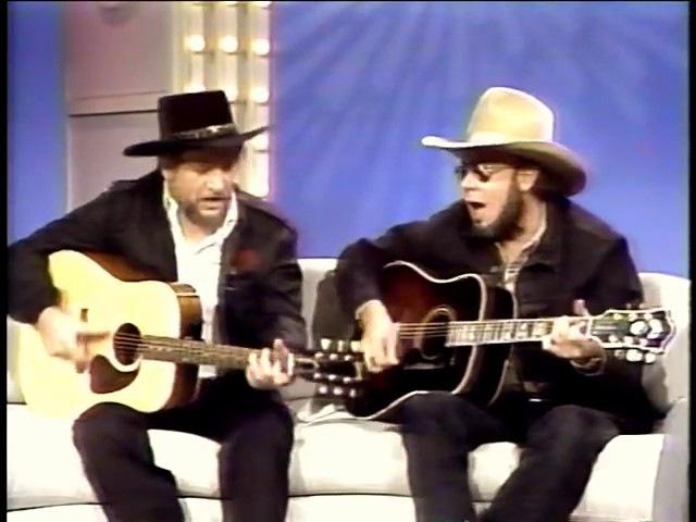 Nashville Now /w Waylon Jennings Hank Jr. singing Mind Your Own Business The Conversation