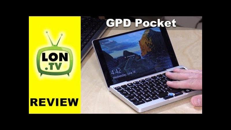 GPD Pocket Tiny 7 Inch Windows / Linux Laptop PC Review