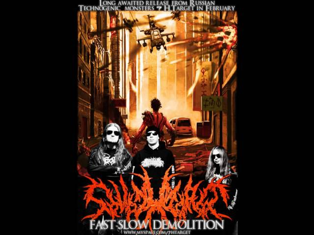 7 H.TARGET - 'Fast-Slow Demolition' 4-track promo tape (2012) FULL