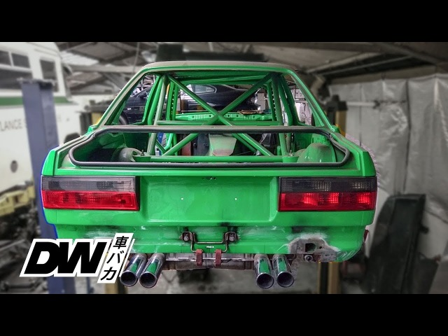 E30 M3 BMW track project with S65 V8 DCT!