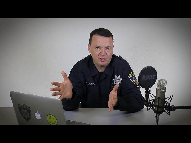 Грани заката (Сцена преступления 3) - Офицер полиции Михаил про американскую полицию (жизнь русских эмигрантов в США USA Police)