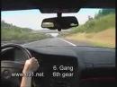 БМВ 850 CSI разгон до 303 км в час