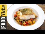 Panfried Cod and Ratatouille Bart's Fish Tales