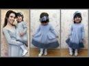 Платье для девочки спицами Часть1 Dress for girls spokes Part1
